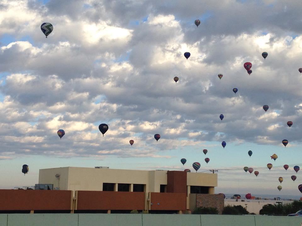 Hot Air balloons over CIS